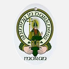 Moran Clan Motto Oval Ornament
