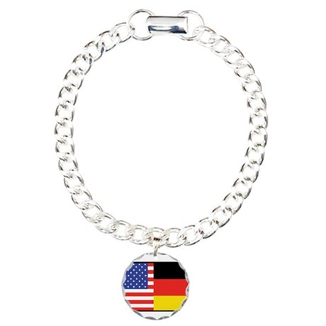 USA/Germany Charm Bracelet, One Charm