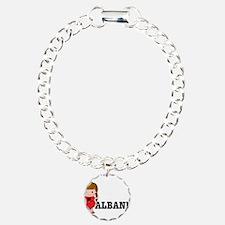 I Love Albania Bracelet