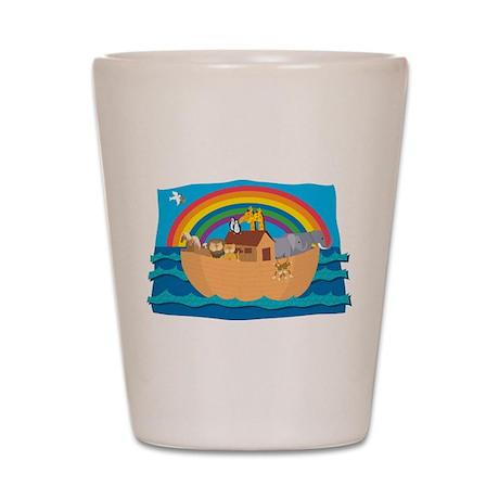 Noah's Ark Shot Glass