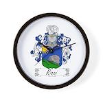 Ricci Coat of Arms Wall Clock