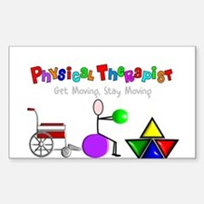 Physical Therapy Decal