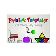 Physical Therapy Rectangle Magnet