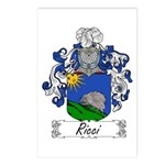 Ricci Coat of Arms Postcards (Package of 8)