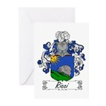 Ricci Coat of Arms Greeting Cards (Pk of 10)