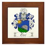Ricci Coat of Arms Framed Tile