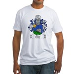 Ricci Coat of Arms Fitted T-Shirt