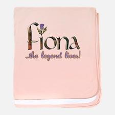 Fiona the Legend baby blanket