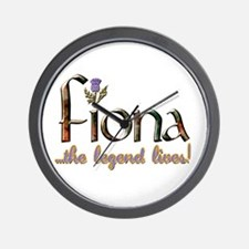 Fiona the Legend Wall Clock
