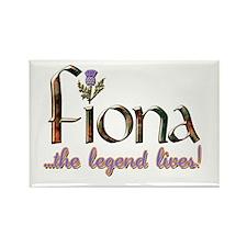 Fiona the Legend Rectangle Magnet