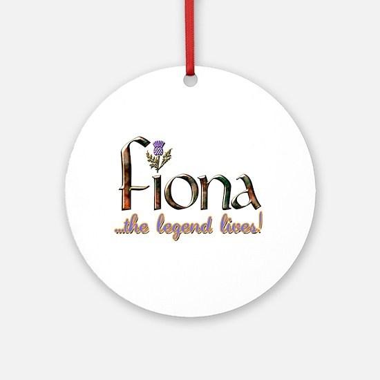 Fiona the Legend Ornament (Round)