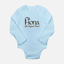 Fiona the Legend Long Sleeve Infant Bodysuit