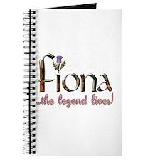 Fiona the Legend Journal