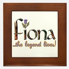 Fiona the Legend Framed Tile