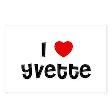 I * Yvette Postcards (Package of 8)