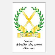 Grand Worthy Associate Adviso Postcards (Package o