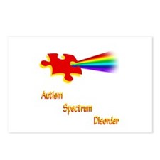 Autism Spectrum Disorder Postcards (Package of 8)