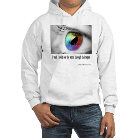 I wish I could see Hooded Sweatshirt