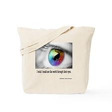 I wish I could see Tote Bag