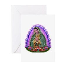 Lady of Guadalupe T4 Greeting Card