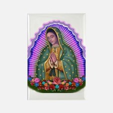 Lady of Guadalupe T4 Rectangle Magnet