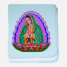 Lady of Guadalupe T4 baby blanket