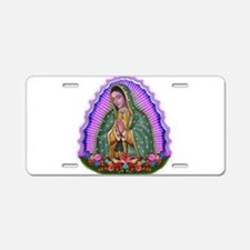 Lady of Guadalupe T4 Aluminum License Plate