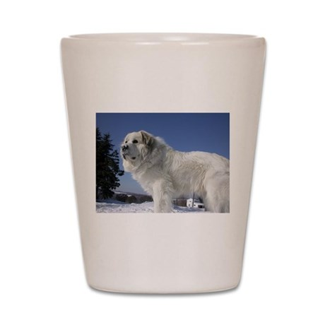 Great Pyrenees Shot Glass