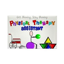 Physical Therapy Rectangle Magnet (10 pack)