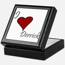 I love Derrick Keepsake Box