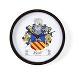 Resti Coat of Arms Wall Clock