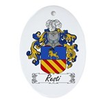 Resti Coat of Arms Oval Ornament