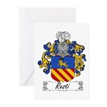 Resti Coat of Arms Greeting Cards (Pk of 10)
