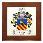 Resti Coat of Arms Framed Tile