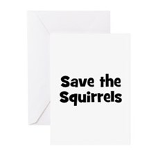 Save the Squirrels Greeting Cards (Pk of 10)