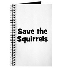 Save the Squirrels Journal