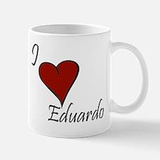 I love Eduardo Mug