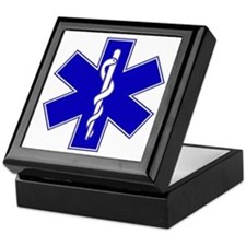 Blue Star of Life Keepsake Box