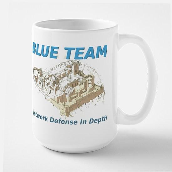 Blue Team Large Mug
