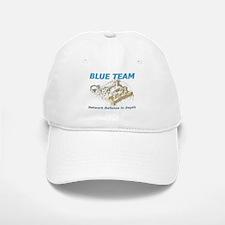 Blue Team Baseball Baseball Cap