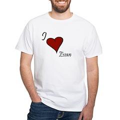 I love Evan Shirt