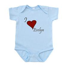 I love Evelyn Infant Bodysuit