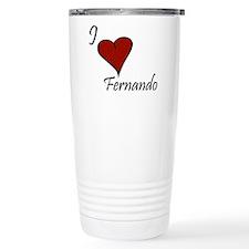 I love Fernando Travel Mug