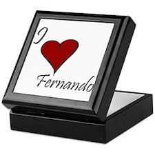 I love Fernando Keepsake Box