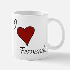 I love Fernando Mug