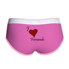 I love Fernando Women's Boy Brief