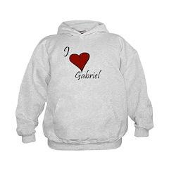 I love Gabriel Hoodie
