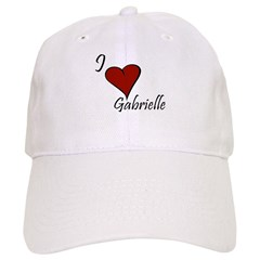I love Gabrielle Baseball Cap