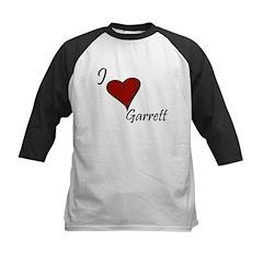 I love Garrett Kids Baseball Jersey
