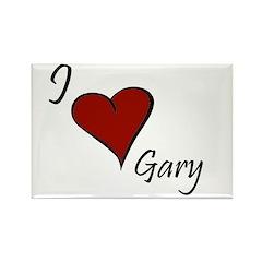 I love Gary Rectangle Magnet (10 pack)